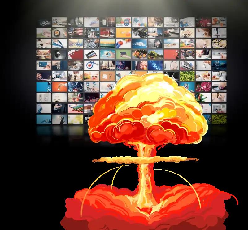 explosive video